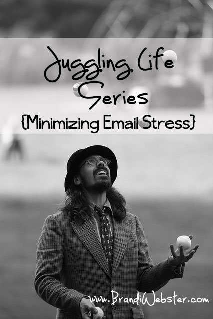 Can you relate? I know I can't possibly be the only person in a constant state of juggling life. Sometimes I feel like a juggler that is juggling so many plates that I can't stop to actually complete anything, lest I stop and everything else falls.